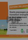 Quels paysages pour la transition énergétique et le changement climatique ?